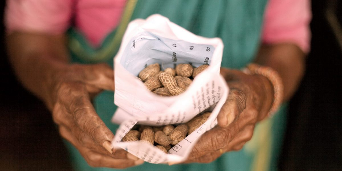 A Peanut Seller Gets a Helping Hand