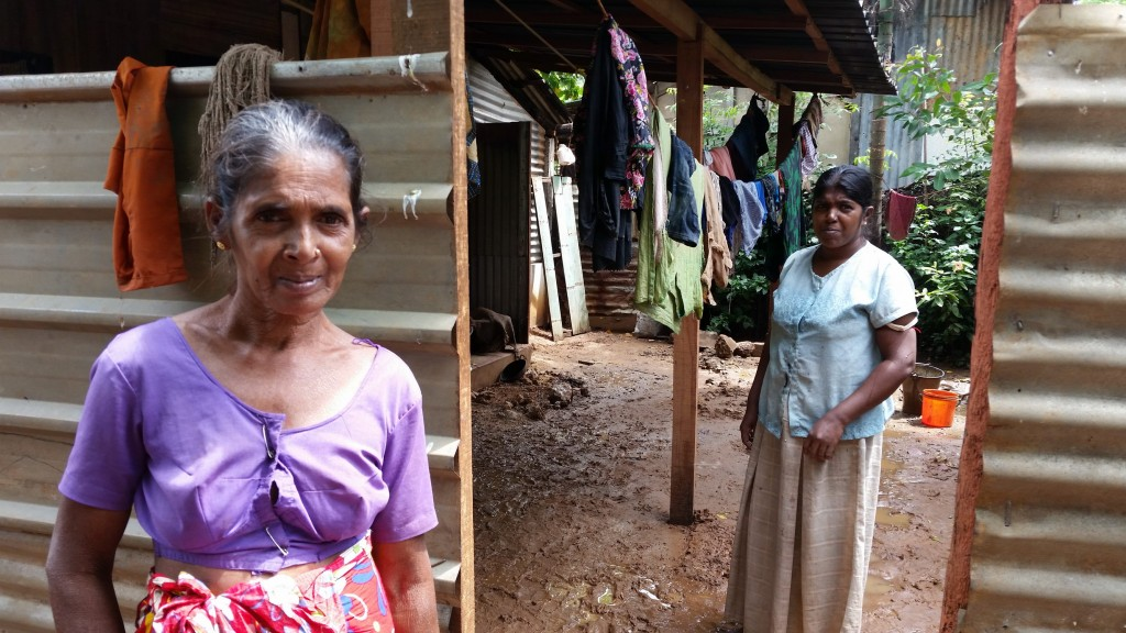 Two widows of the some sixty thousand in total resulting from the Sri Lankan Civil War.